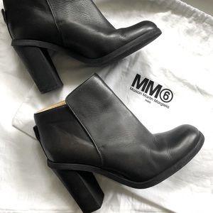 MM6🖤 Mason Margiela black leather boots